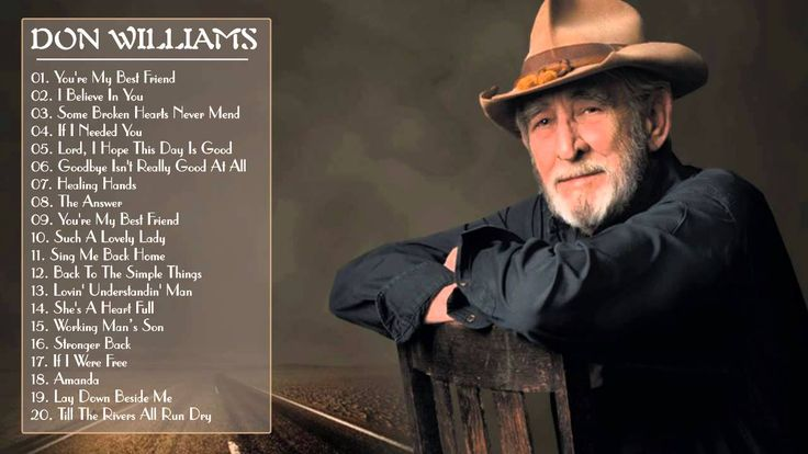 Don Williams Greatest Hits || Don Williams Best Songs (Full Album)