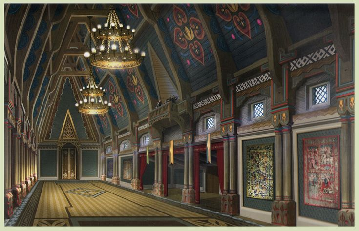 Frozen - Arendelle Castle Concept Art - Frozen Photo (37451730) - Fanpop