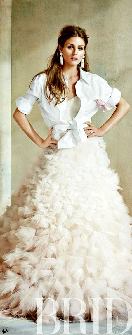 If I was to get married again I would wear this dress! Olivia Palermo