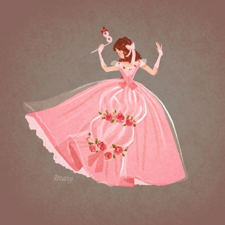 Beautiful pink princess dress _ Bellissimo vestito da principessa rosa  - (Phantom of the Opera - Masquarade by *Katikut)