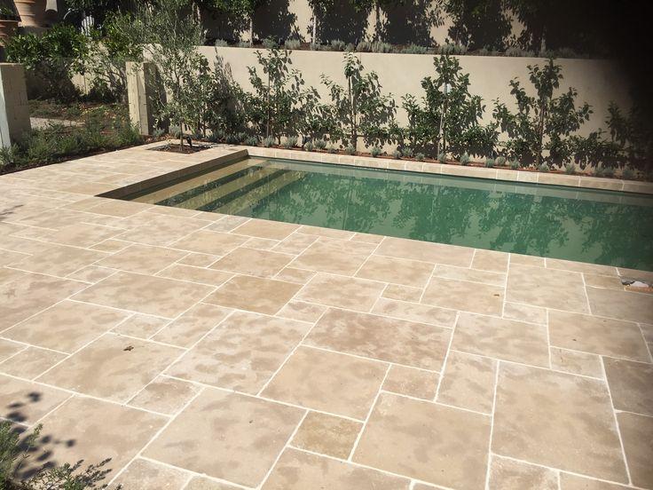 Arbon modular paving around pool. Eco Outdoor
