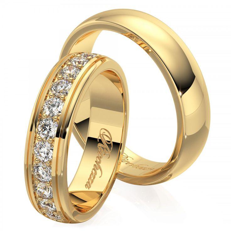 Обручальные кольца с бриллиантами - это, безусловно, уже традиция. Кольца украшают самым прочным в мире драгоценным камнем, символом бесконечной надежности, вечности и благополучия. Обручальные кольца с бриллиантами очень выгодно подчеркнут Ваш новый социальный статус.  Глянцевые обручальные кольца имеют невероятный блеск и праздничное сияние каждый день. Кольца с глянцевой поверхностью очень просты в уходе и неприхотливы в