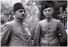 Quaid e Azam Muhammad Ali Jinnah great Leader of Pakistan with Liaquat Ali khan