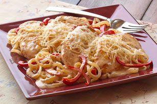 Saucy Chicken Italiano recipe