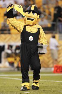 ''Steely Mcbeam'' - Pittsburgh Steelers Mascot