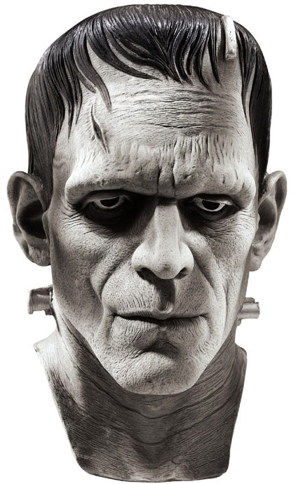 Universal Monsters masks ~ Boris Karloff as FRANKENSTEIN'S MONSTER