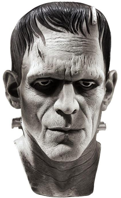 Universal Monsters masks ~ Boris Karloff as FRANKENSTEIN'S MONSTER