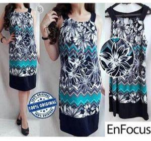 Jual Enfocus Dress Branded hanya Rp 105.678, lihat gambar klik https://www.tokopedia.com/mamanya-zati/enfocus-dress-branded   #enfocus #dress #branded #blue #black #flower #white #bajumurah #bajusantai #daster