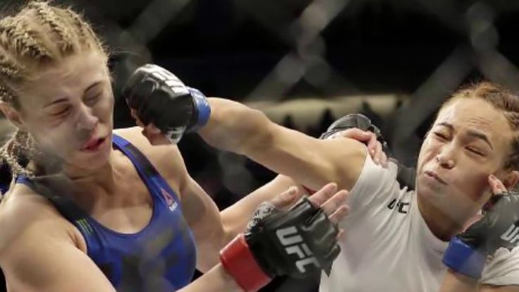 UFC Fight Night results Michelle Waterson submits Paige VanZant in first round Very Fast