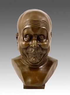 Any given day ...: The Character Heads by Franz Xaver Messerschmidt