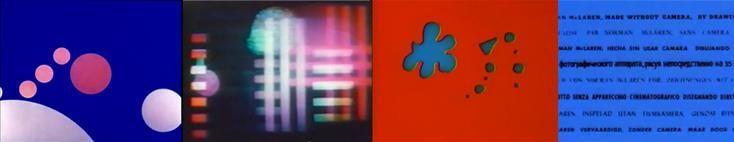 回朔至40年代,兩位代表性的實驗動畫師,奧斯卡.費欽格(Oskar Fischinger)與諾曼.麥克賴(Norman McLaren),他們的作品使用大量動態的幾何圖形與文字設計被稱做抽象動畫或實驗動畫,此即是MG的誕生。