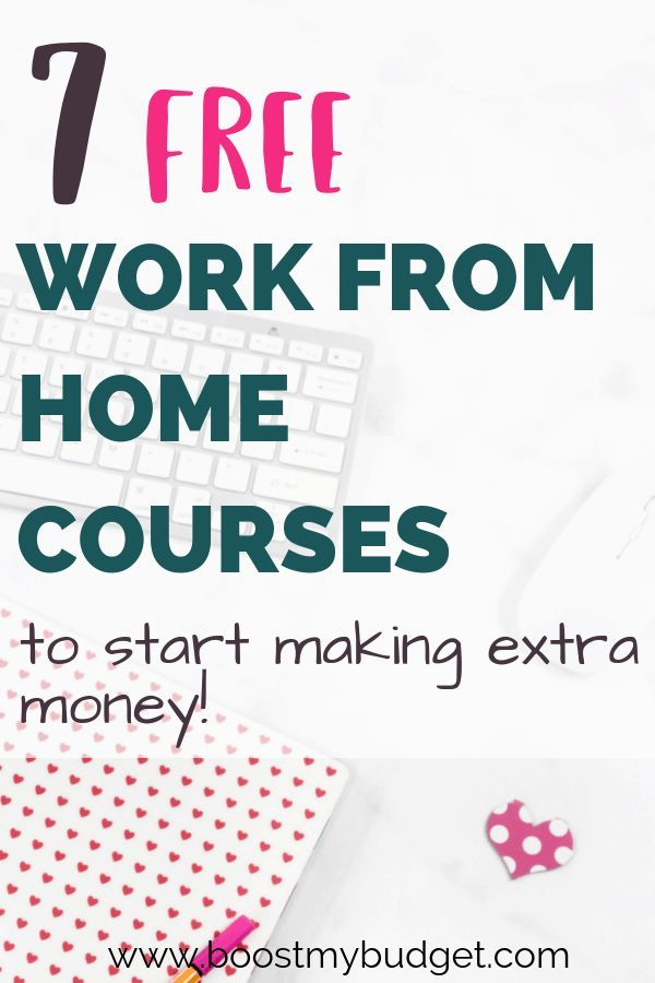 7 Best FREE Work From Home Courses: Start Making Money at Home – Rachel Bibber