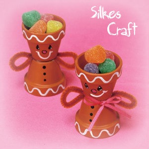 Little Clay Pot Sweet Craft!   silkesonestop