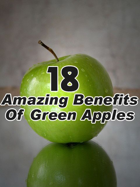 Green Apples Health Benefits: It contains anti-oxidants which help in cell re-building and cell rejuvenation.