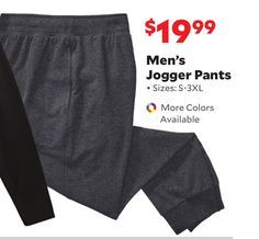 Men's Jogger Pants from Academy Sports + Outdoors $19.99