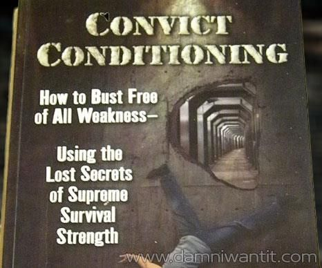 "Convict Conditioning Book will help you train and attain real strength, power and toughness as if your life depended on it. ""Coach"" Paul Wade's book is fantastic. His is a remarkable book that captures the complexity of training the body through six ""simple"" exercises. You'll learn all the secrets of unleashing your own raw power and brute strength using limited equipment just like a prison convict would."