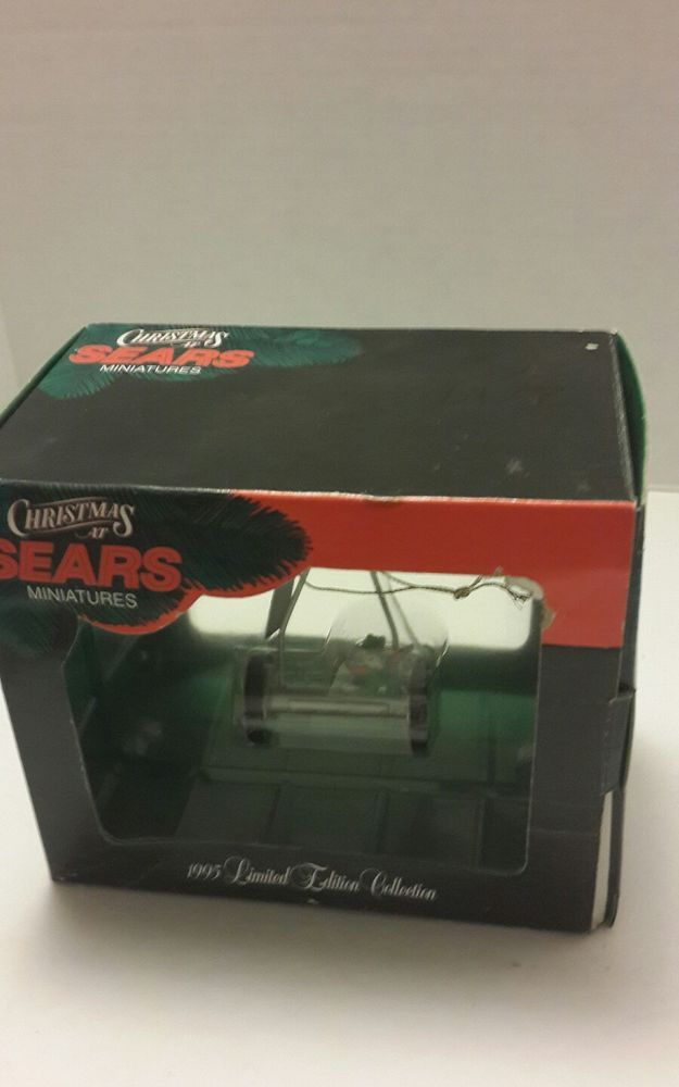 Sears Craftsman Mr Christmas Ornament Push Mower 1995 Ltd Ed Collection #MrChristmas