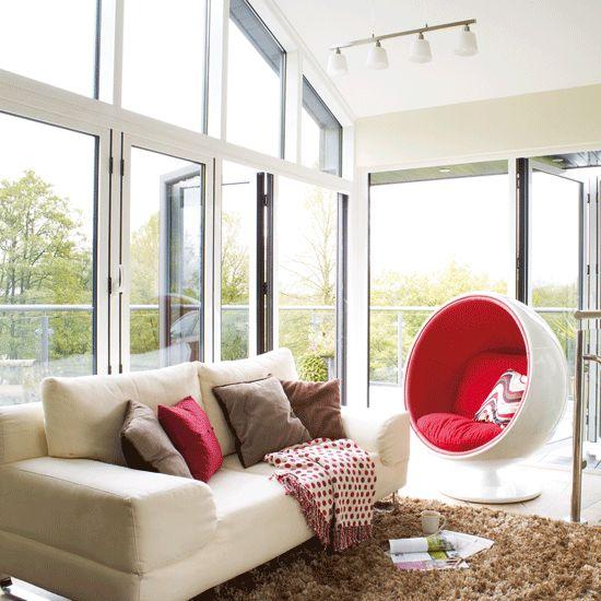 Modern conservatory   Conservatory   Decorating ideas   Image   housetohome.co.uk