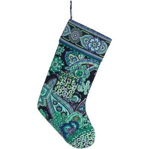Christmas Stocking in Blue Rhapsody