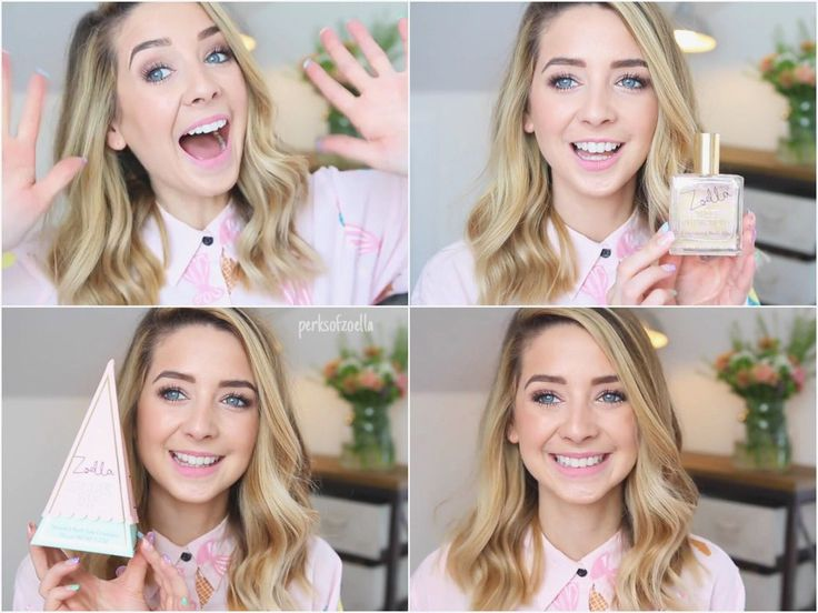Zoella's new beauty products: Sweet Inspirations