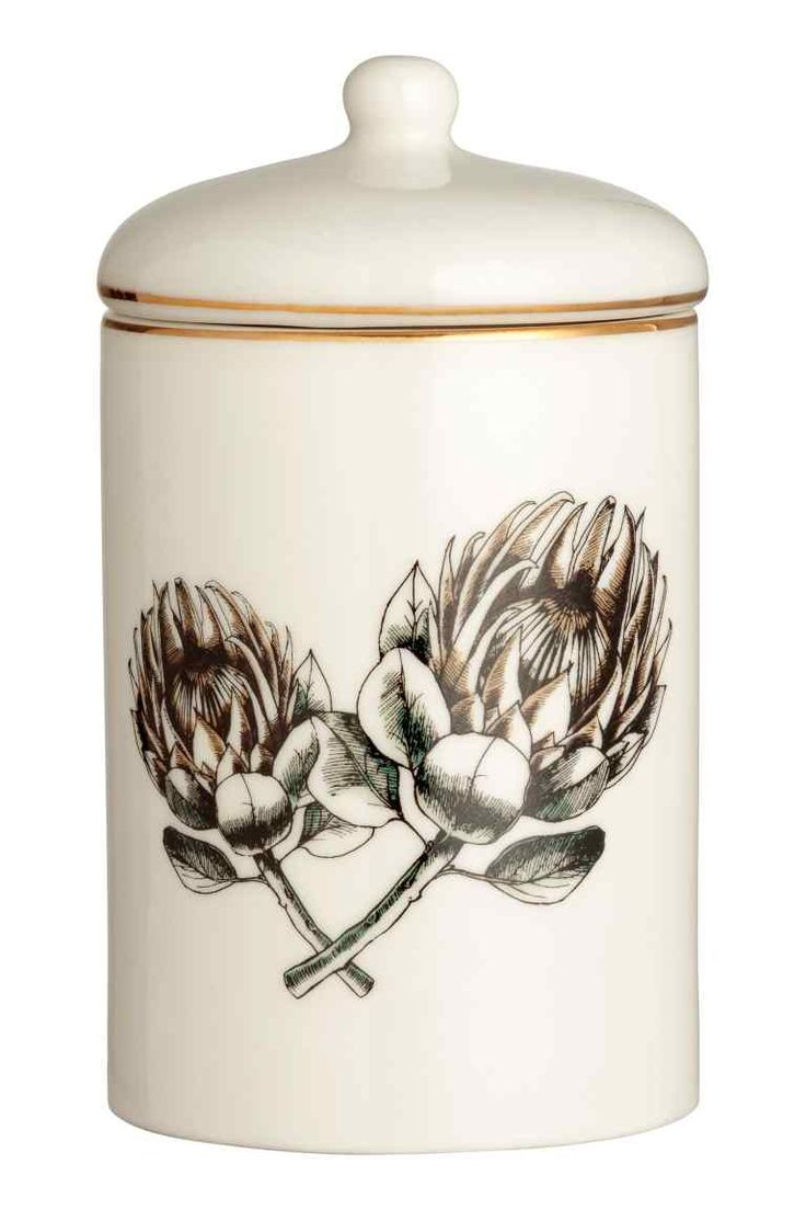 Vela aromática en recipiente - Blanco/Olive & Sage - HOME | H&M ES