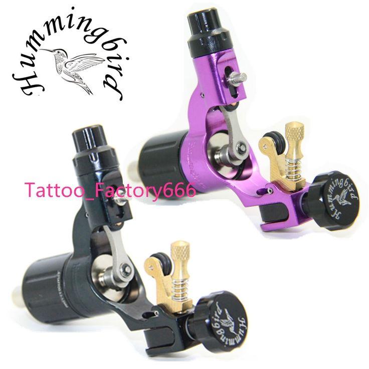 242.25$  Know more  - Pro 2 pcs Black&Purple Hummingbird V2 Original Swiss Motor Rotary Tattoo Machine Gun kit liner shader for cord