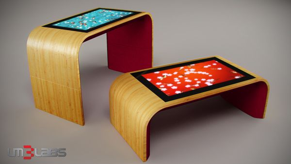 Interactive table from LM3LABS