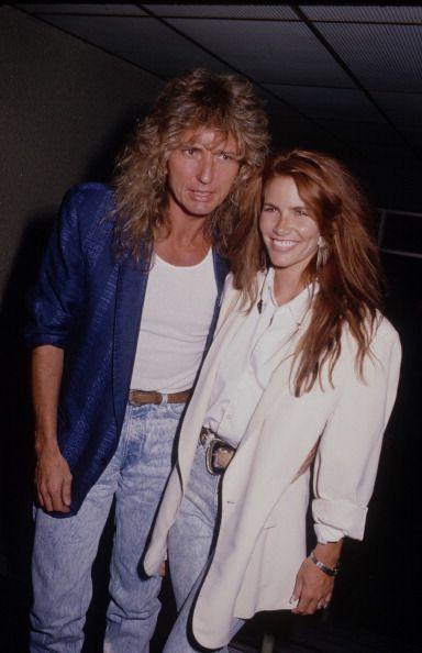 Tawny Kitaen and David Coverdale, 80s