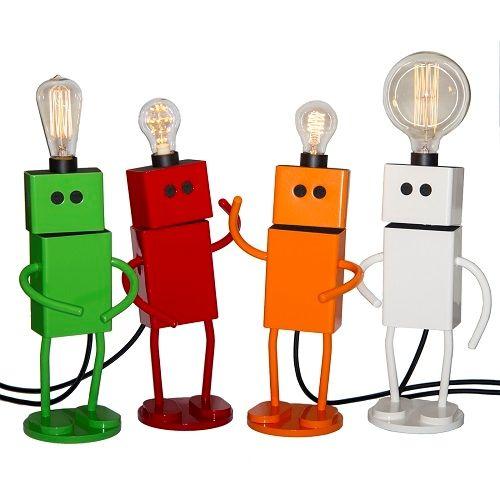 Unika lamper/ robotter/ kunst