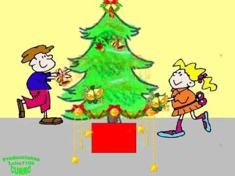Canción de navidad (Villancico) EL ABETO. - YouTube