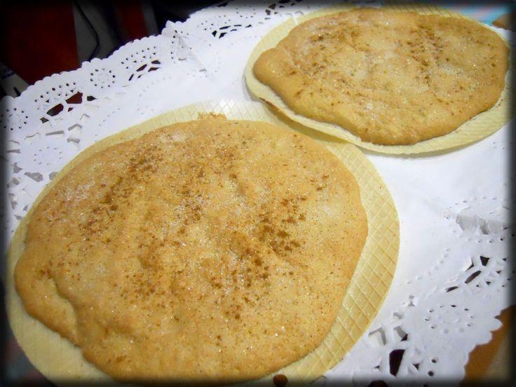 """Este dulce es típico valenciano. Mi madre consiguió la receta de un libro que se llama """"La cuina més tradicional d´Alboraia"""", que, para los..."""