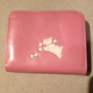 Pink Radley Purse With Scottie Dog