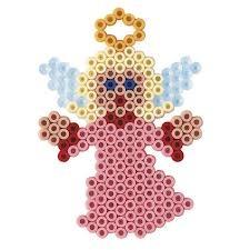 Engel / Hama Perlen - perler beads - Bügelperlen
