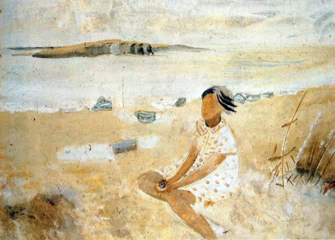 Winifred Nicholson - Charlotte's Shells (1933). Pastel colours work almost anywhere