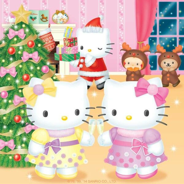 Wishing Everyone A Very Hello Kitty Merry Christmas And A Happy New Year:)!
