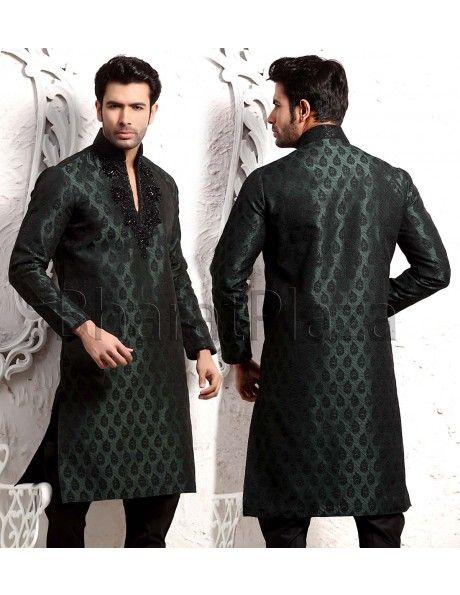 Imperial Sangeet Kurta Pyjama. Item code: SKB9807