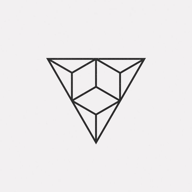 A new geometric design every day . Triangles . Minimal