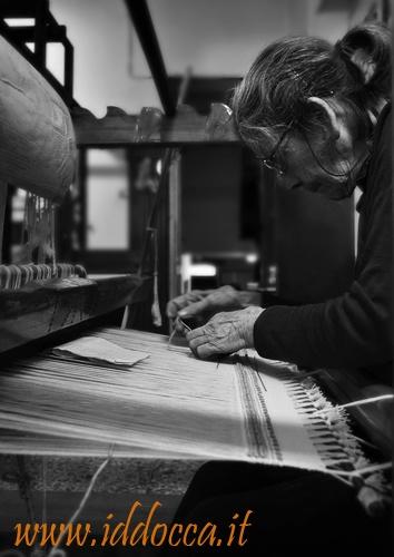 Author o the photo: Eleonora Angius.  Title: Weaver of Samugheo.