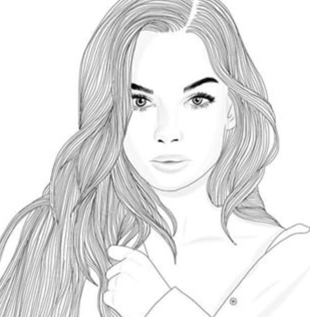 Teenage girl drawings tumblr pictures to pin on pinterest for How to draw tumblr drawings