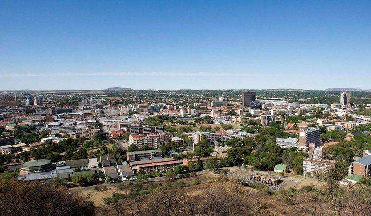 Bloemfontein City landscape