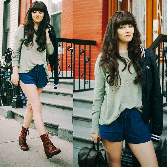Jacket, Shorts, Sweater