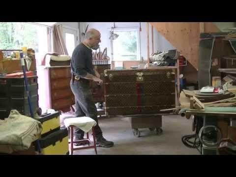 Repairing Veneer on a Midcentury Tabletop - Thomas Johnson Antique Furniture Restoration - YouTube