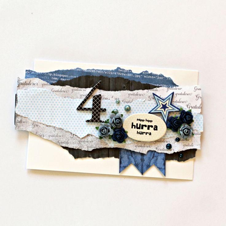 papirdesign-blogg: Hvordan lage et raskt bursdagskort
