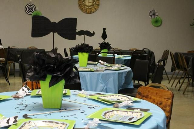 Mustache Baby Shower Baby Shower Party Ideas | Photo 2 of 9