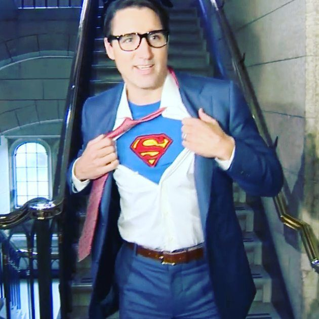 "Justin Trudeau dressed up for Halloween and it's a little too self-aware Canadian prime minister and world leader poster boy Justin Trudeau dressed up for Halloween and well it's a little bit too self-aware. Trudeau stealthily dressed as Clark Kent and exposed himself as Superman. That's right Superman. Trudeau has become a little darling of American media in the last year as the country looks north and asks: ""Why can't we have a young good-looking thoughtful leader like Canada?"" Don't get…"