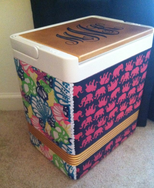 Diy Painted Cooler : Diy hand painted coolers how to paint