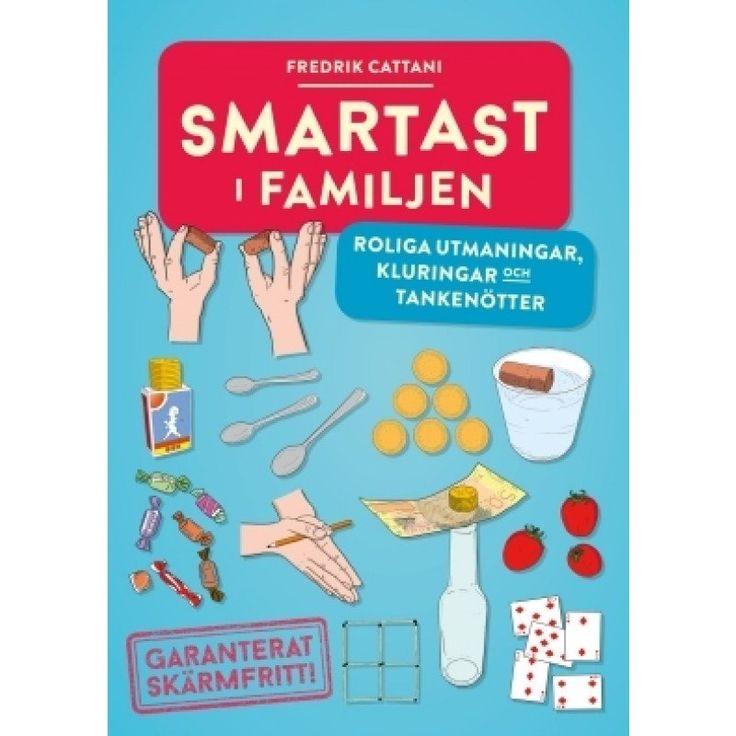 Smartast i familjen : roliga utmaningar, kluringar och tankenötter av