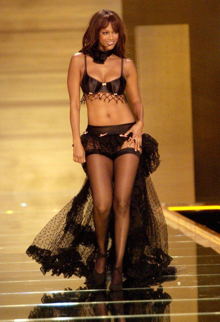 Pin for Later: Rückblick: Die heißesten Victoria's Secret Models aller Zeiten Tyra Banks