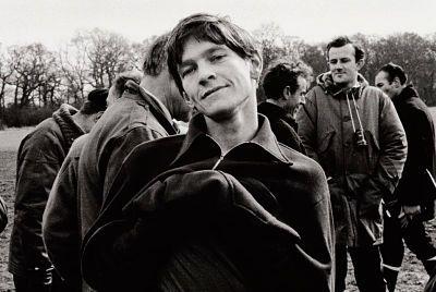 Tom Courtenay, fotografiado por Sandra Lousada, durante el rodaje de 'La soledad del corredor de fondo' (1962), de Tony Richardsonn.
