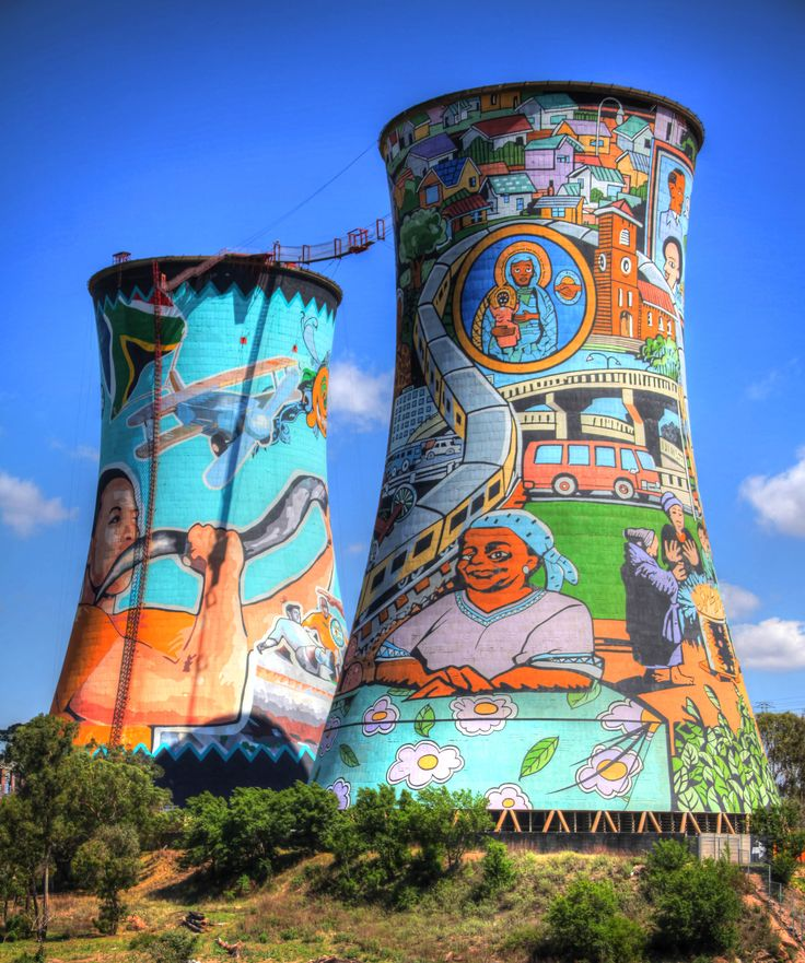 Iconic Soweto Towers
